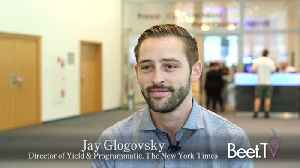 New York Times Put Programmatic On Pause In Europe: Jay Glogovsky explains [Video]