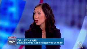 Dr. Leana Wen interview on