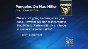 Pittsburgh Penguins Will Not Change Goal Song To Mac Miller's 'Party On Fifth Ave' [Video]