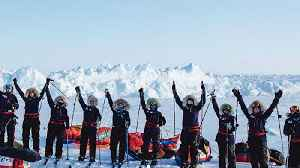 All-Women Ski Team Mission Unstoppable Trek To The North Pole [Video]