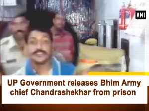 UP Government releases Bhim Army chief Chandrashekhar from prison [Video]