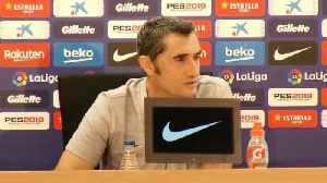 Valverde unsure on La Liga match in USA [Video]