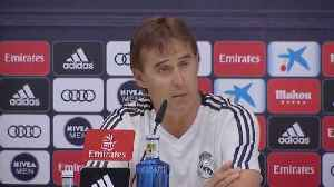 Lopetegui focused on Athletic Bilbao ahead of Roma match [Video]