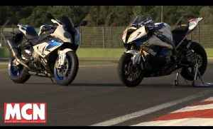 BMW HP4 Road & BMW HP4 Superstock ridden at Imola | 'Track' Tests | Motorcyclenews.com [Video]