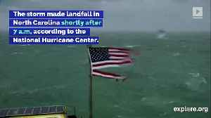 News video: Watch Hurricane Florence Make Landfall in the Carolinas