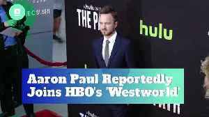 Aaron Paul Reportedly Joins HBO's 'Westworld' [Video]