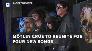 Mötley Crüe to Reunite for Four New Songs [Video]