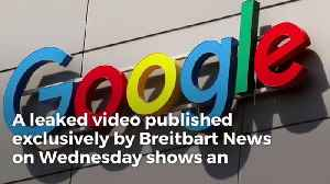 Google Nightmare: Video of Google's Secret Anti-Trump Meeting Leaks, White House Will Explode [Video]