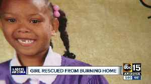 Father of six-year-old girl pulled from burning home speaks to ABC15 [Video]