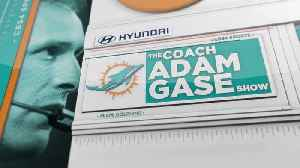Dolphins Coach Adam Gase Talks About The Rivalry Between Miami And The Jets Ahead Of Sunday's Matchup [Video]