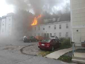 News video: Suspected Gas Explosions Set Fire to 60-100 Massachusetts Homes