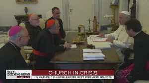 News video: Pope Francis Meets With Catholic Leaders In Rome Amid Ongoing Sex Abuse Scandal