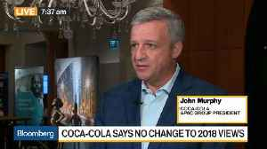 Coca-Cola's Murphy on Trade Tensions, Coffee Acquisition, India Strategy [Video]