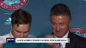 News video: Michigan's Norris part of Erik Karlsson trade