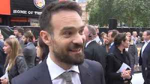 Charlie Cox says filming 'King of Thieves' has been the greatest work experience he'll ever have [Video]
