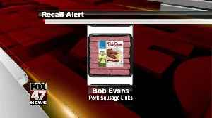 RECALL: Pork sausage link products [Video]