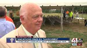 Councilman refuses to explain costly travels [Video]