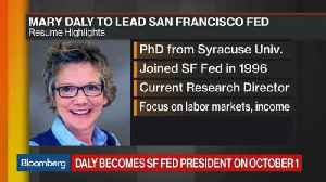 News video: San Francisco Fed Names Mary Daly as President
