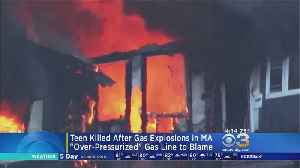 News video: At Least 1 Dead In Multiple Fires, Gas Explosions In Massachusetts
