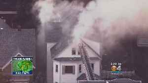 News video: Gas Explosions In 70 Homes North Of Boston