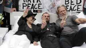 Ringo Starr And Yoko Ono Recreate The Iconic 'Bed-In' [Video]