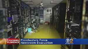 Floodwaters Force Newsroom Evacuation [Video]