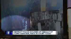 Man allegedly assaulted by off-duty DPD commander at Corktown bar files lawsuit [Video]