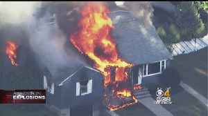 Lawrence Police Officer Evacuates Neighbors As His Home Burns In Gas Explosion [Video]