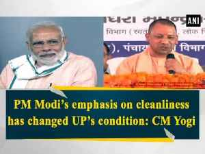 PM Modi's emphasis on cleanliness has changed UP's condition: CM Yogi [Video]