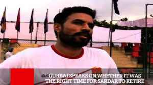 Gurbaj Speaks On Whether It Was The Right Time For Sardar To Retire [Video]