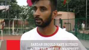 Sardar Should Have Retired After The WC Feels Manpreet [Video]