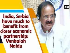 India, Serbia have much to benefit from closer economic partnership: Venkaiah Naidu [Video]