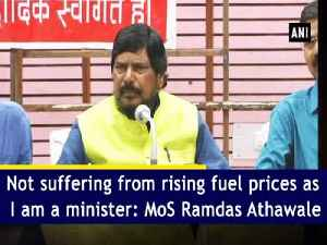 Not suffering from rising fuel prices as I am a minister: MoS Ramdas Athawale [Video]