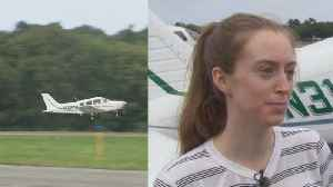 17-Year-Old Flies Again After Crash Landing During First Solo Flight [Video]