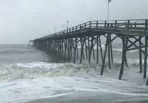 Beloved North Carolina Pier 'Holding on Strong' During Hurricane Florence [Video]