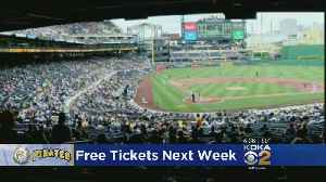 Pirates Offering Thousands Of Free Tickets During Fan Appreciation Week [Video]