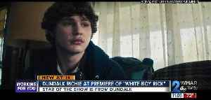 """""""White Boy Rick"""" star takes in debut in hometown of Dundalk [Video]"""