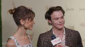 'Stranger Things' Stars Natalia Dyer and Charlie Heaton Love 'Barry' | Emmy Nominees Night 2018 [Video]