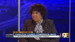 This Week in Cincinnati: Stephanie Dumas discusses the race for Hamilton County Commissioner (Part 1) [Video]
