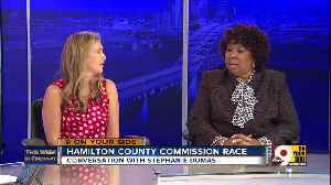 This Week in Cincinnati: Stephanie Dumas discusses the race for Hamilton County Commissioner (Part 3) [Video]