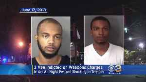 2 Men Indicted On Weapons Charges In Art Festival Shooting In Trenton [Video]