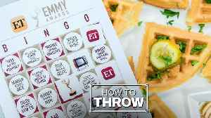 How to Throw an Epic Emmy Awards Viewing Party [Video]
