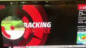 News video: Weather Channel Reporter Is Caught Playing Up Hurricane As Two Men Casually Walk By