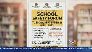 Nassau County Police To Hold School Safety Forum [Video]