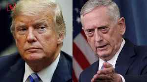 Trump Looking To Replace Defense Secretary James Mattis After Midterms: Report [Video]