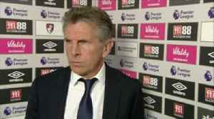Bournemouth 4-2 Leicester: Puel [Video]