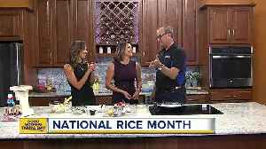 Nick V. whips up rice pudding recipe [Video]