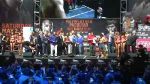 News video: Mayweather says he will fight Pacquiao again this year