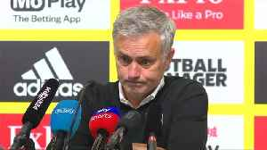Mourinho cautiously happy with victory over Watford [Video]
