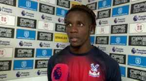 Zaha asks for protection from referees [Video]